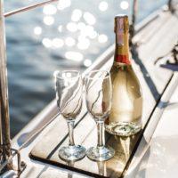 романтический отдых на яхте