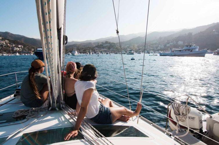 групповой тур на яхте