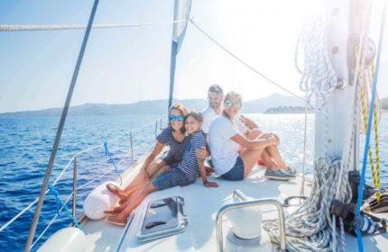семейный отдых на яхте фото